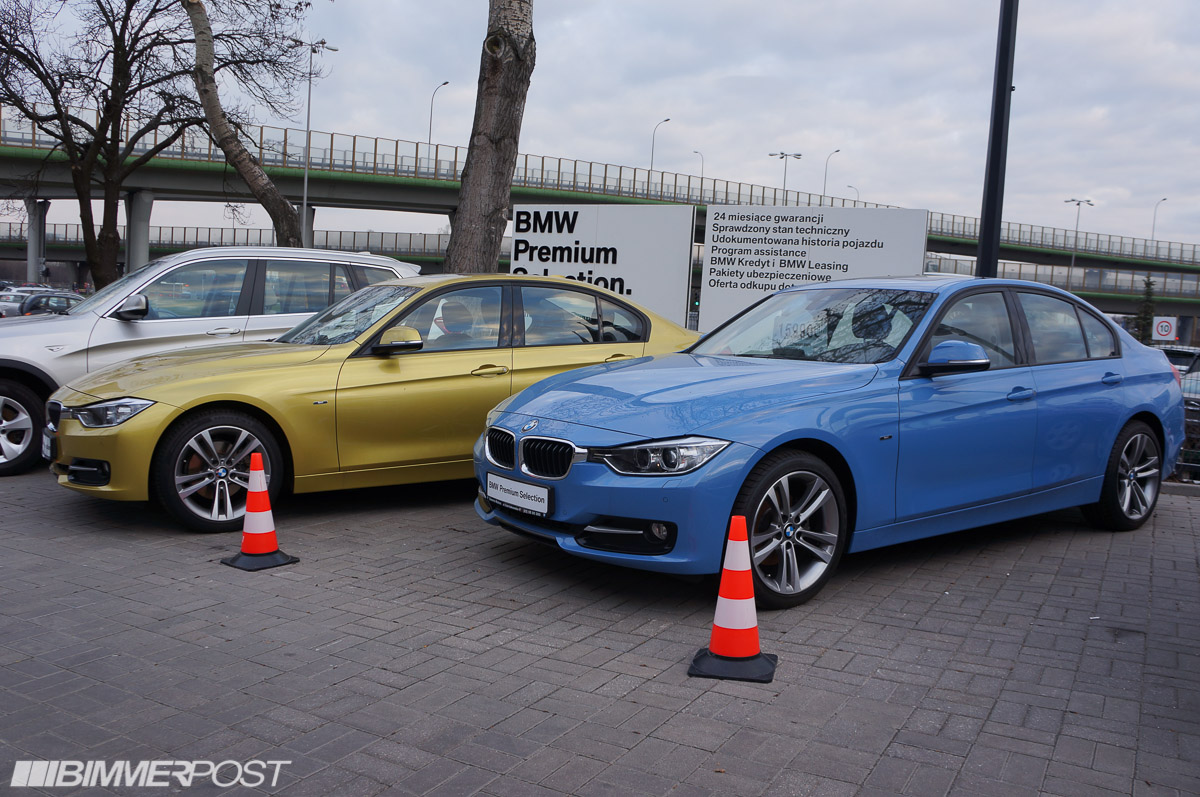 Bmw Individual F30 3 Series In Austin Yellow And Yas