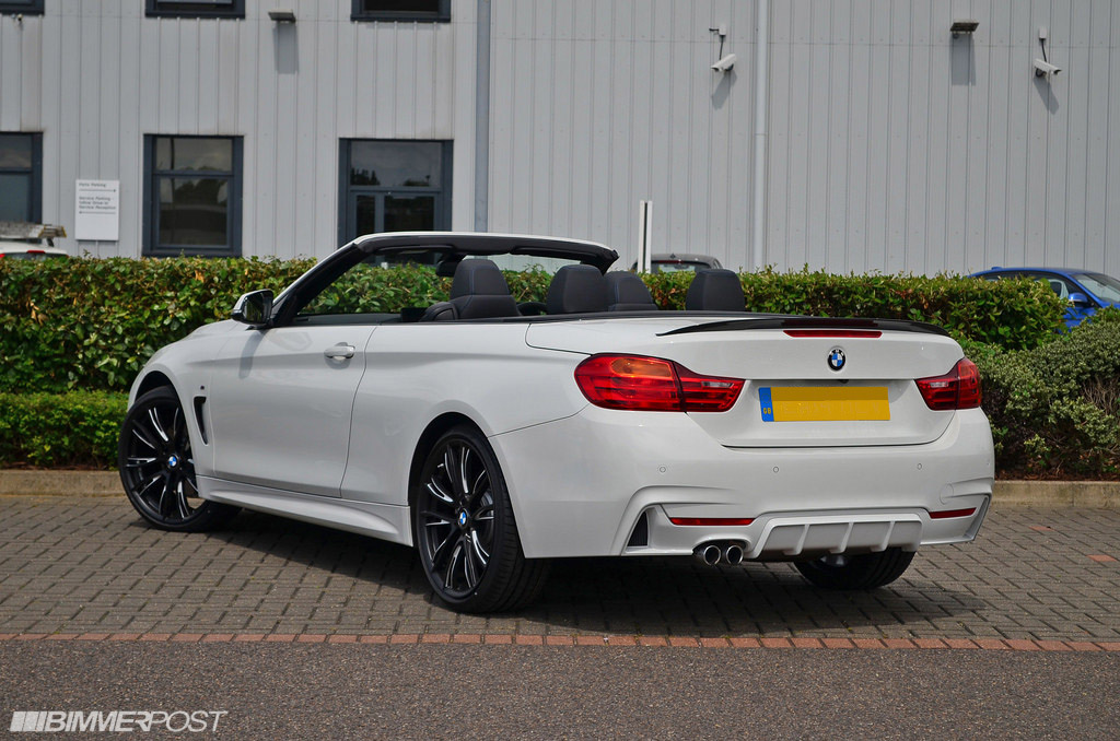 Series Convertible With BiTone Wheels And M Performance Parts - Bmw 435i convertible m sport