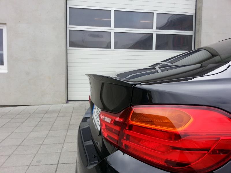 BMW OEM M Performance Rear Deck Lip Spoiler F32 4 Series Coupe 51192354500