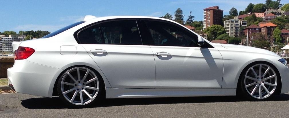 BMW F30 on 20inch rims