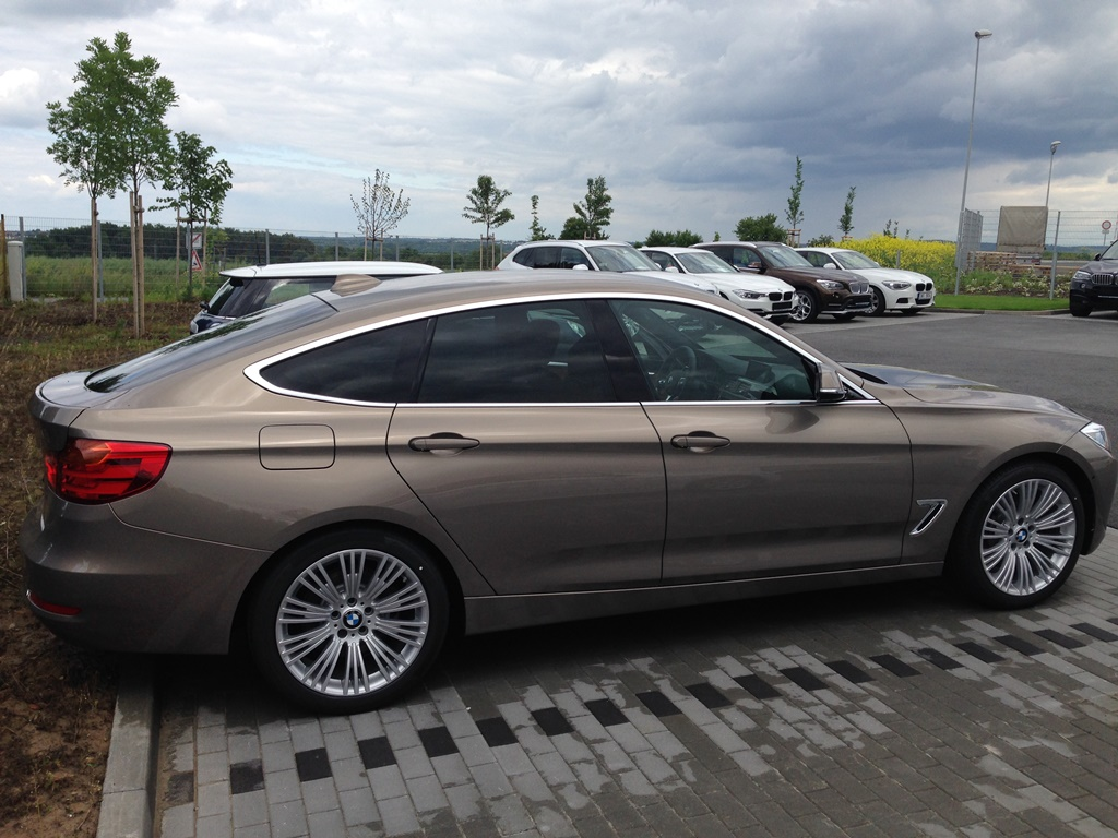 My New 335d Xdrive Gt