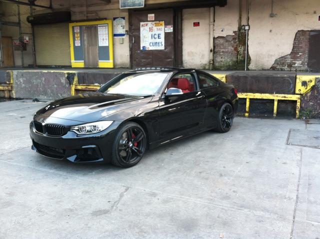 2014 435i M Sport Black On Red