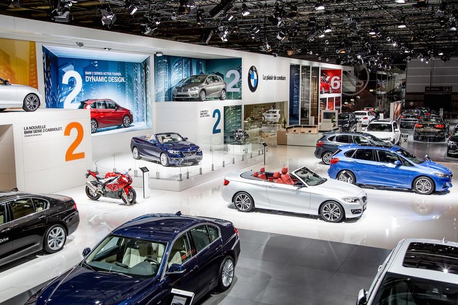 BMW Highlights At The Paris Motor Show - Bmw car show