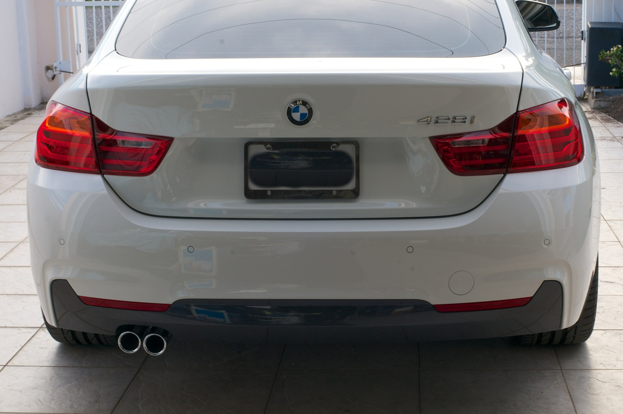 First 2015 Alpine White F36 428i Gran Coupe In Jamaica Mineral Grey Bmw Attached Images