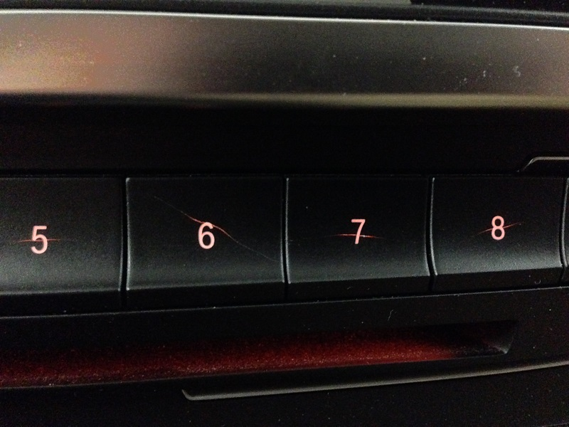 Cool Scratched Button
