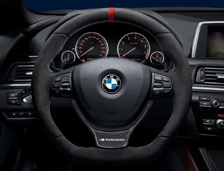 Bmw M Performance Flat Bottom Steering Wheel Red Strip