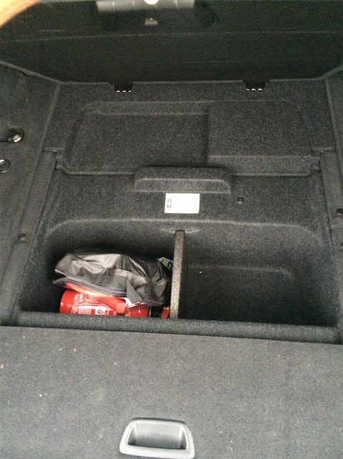 Place for a spare wheel F31? - BMW 3-Series and 4-Series