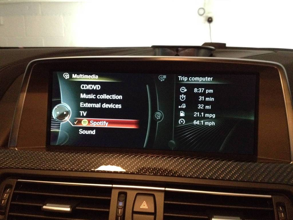 Spotify and BMW - BMW 3-Series and 4-Series Forum (F30 / F32