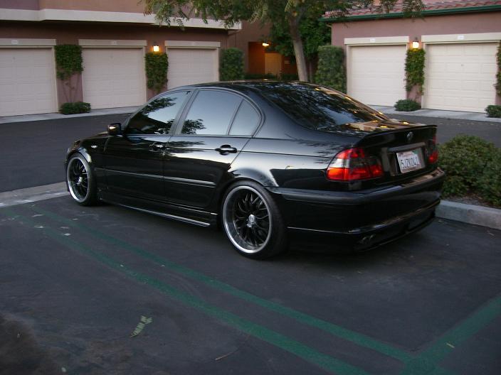e46 Sedan Black  What mods