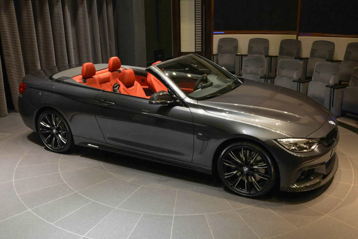 nice f33 4 series convertible with m performance parts akrapovic. Black Bedroom Furniture Sets. Home Design Ideas
