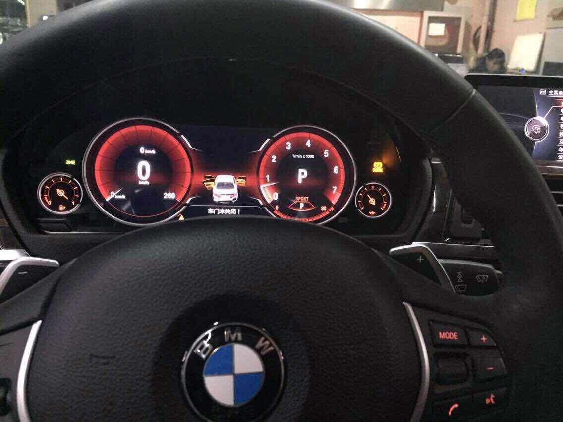 Full LCD instrument cluster on F30, freaking awesome - BMW 3