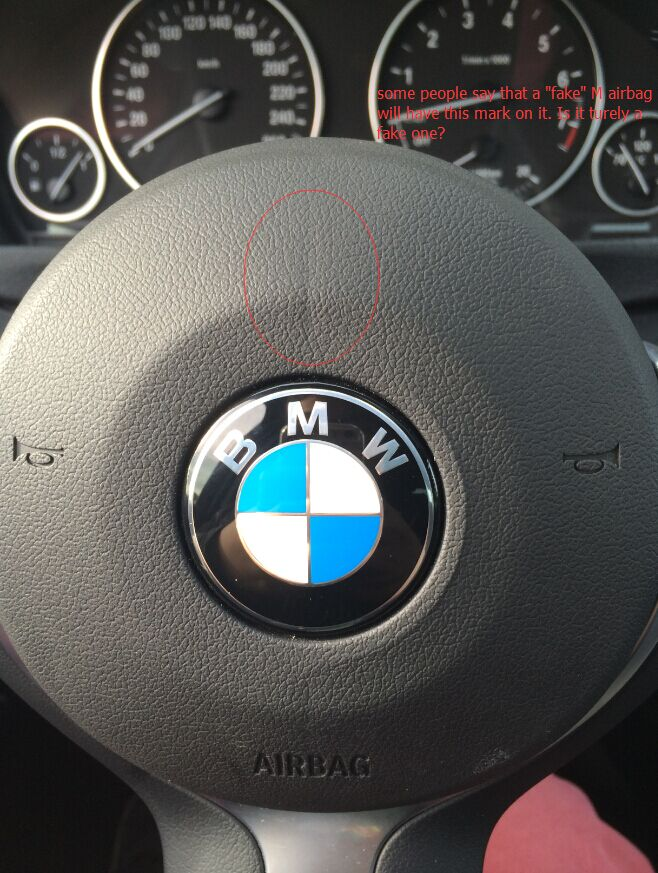 fake airbag? - BMW 3-Series and 4-Series Forum (F30 / F32