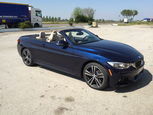 2015 Bmw 435i Xdrive Convertible In Tanzanite Blue