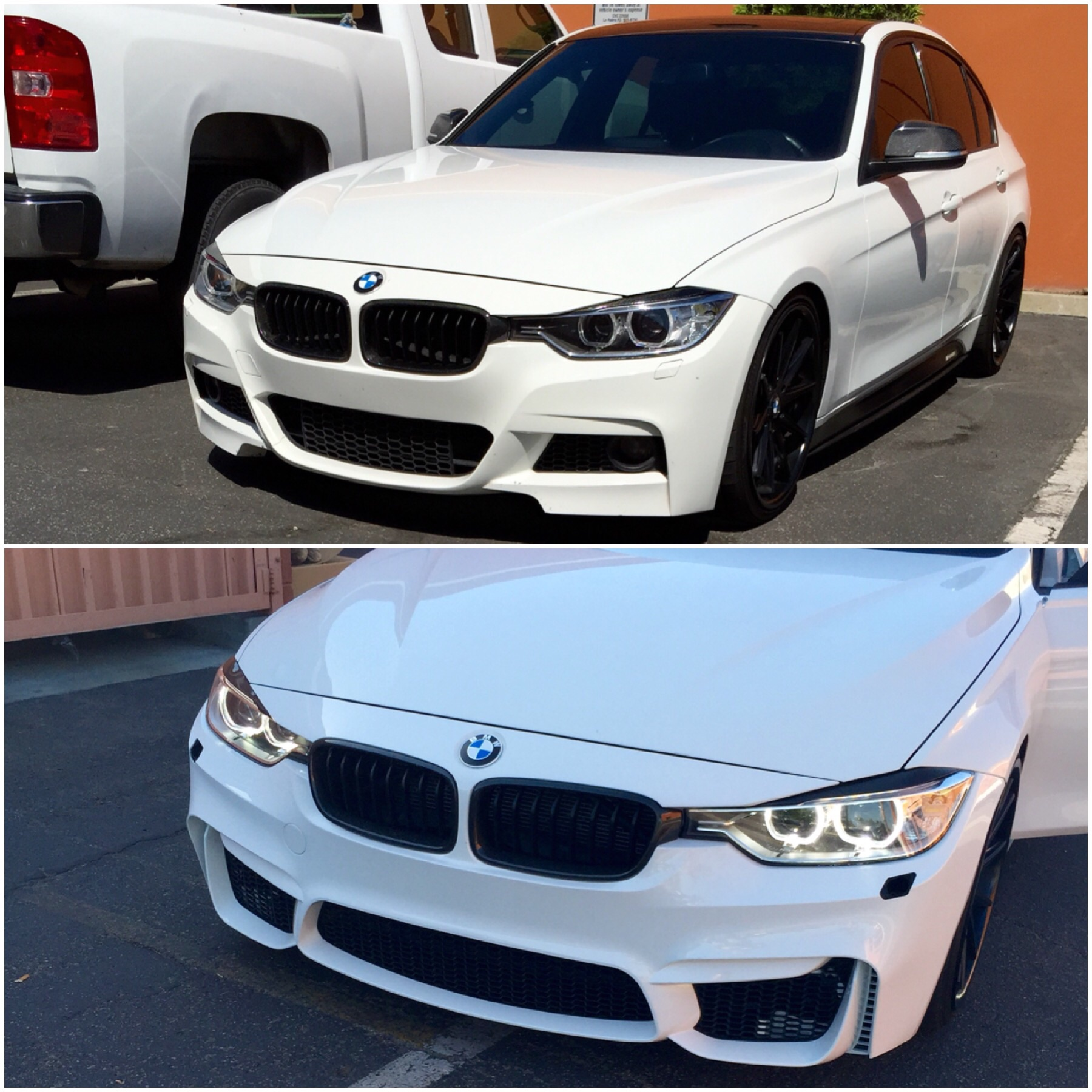F80 Bumper For An F30