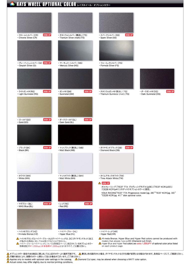Enkei Gunmetal Paint Code