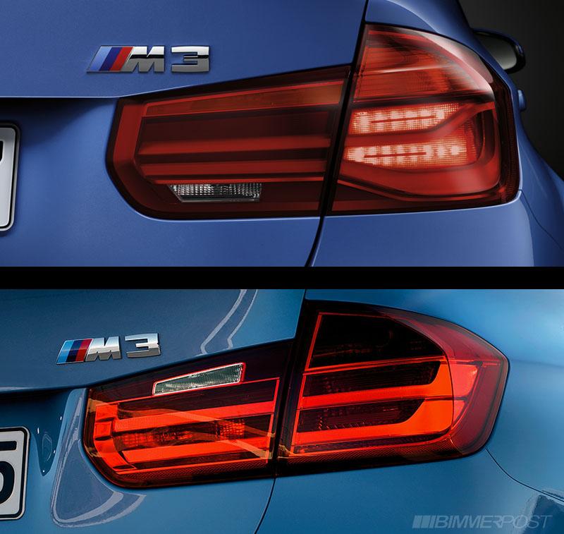 A Visual Comparison Of F30 3 Series Lci Versus Pre Lci