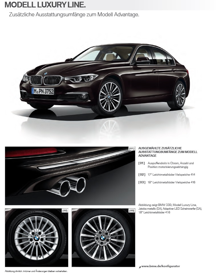 Bmw F30 3 Series Lci Information Pictures And Videos Page 10
