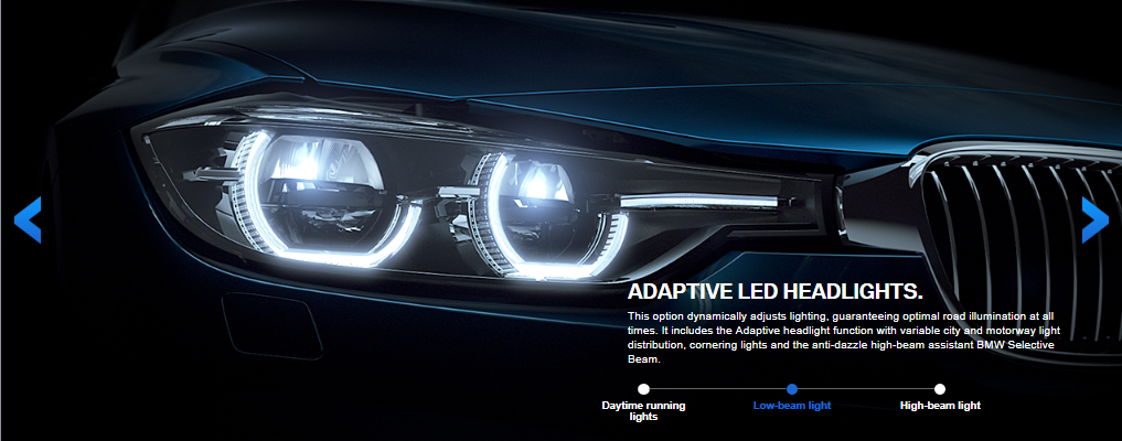 Visual Comparison Of The 3 Series Lci Halogen And Led Headlights
