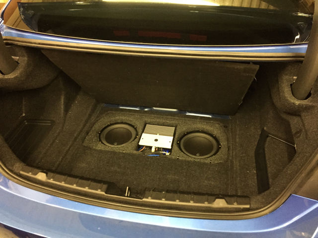 Notes On A 2015 435i With Harman Kardon System And Jl Audio Trunk