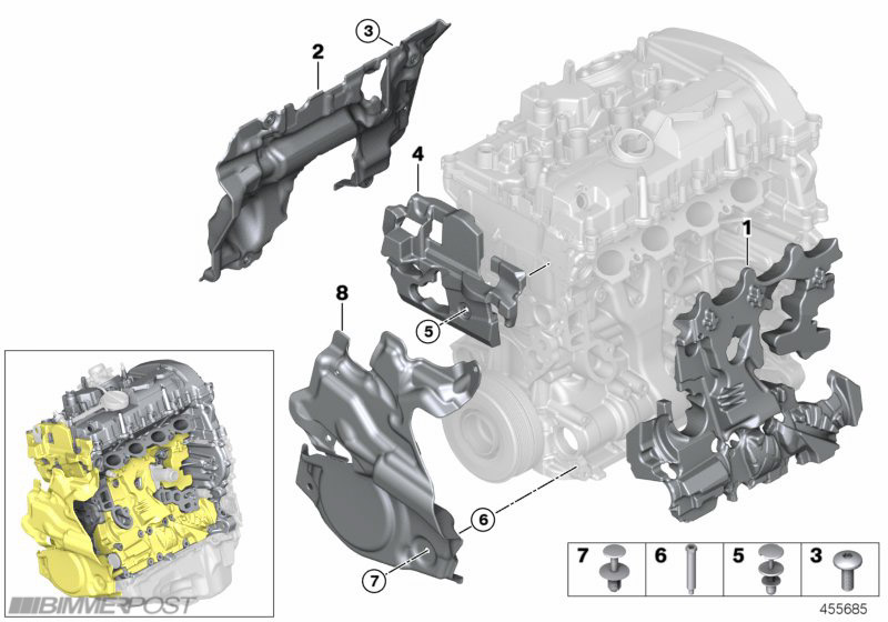 B48 Engine (330i) Technical Diagrams and Details - BMW 3