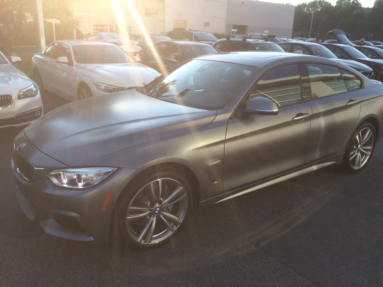 Picked Up My Frozen Grey 2015 435i Gc Gran Coupe Last Night