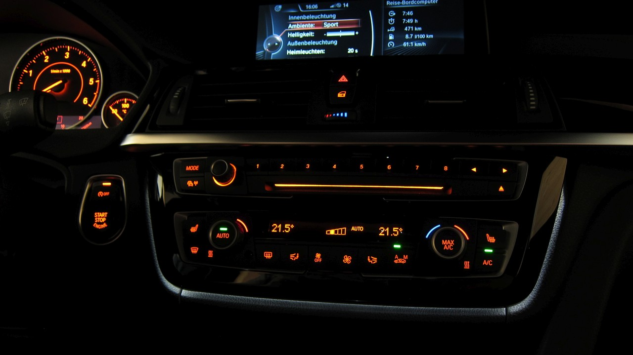 Diy Illuminated Lci Ac Radio Trim Retrofit