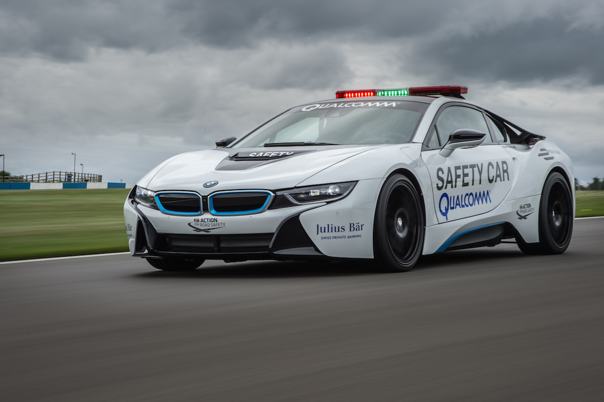 Bmw Is Official Vehicle Partner For The 2015 2016 Fia Formula E Championship