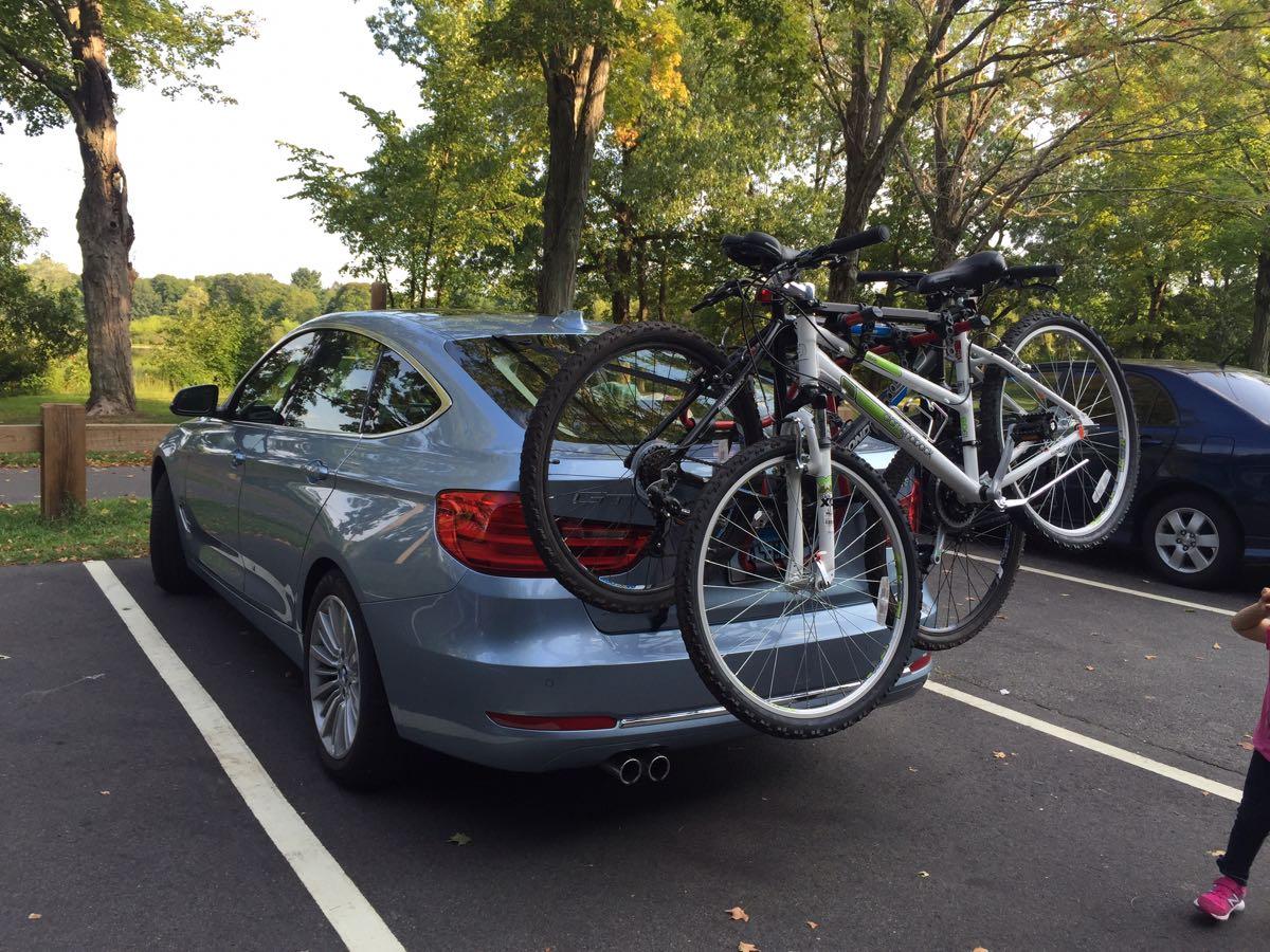 Any GT Owners Here With Bike Racks - Bmw 335i bike rack