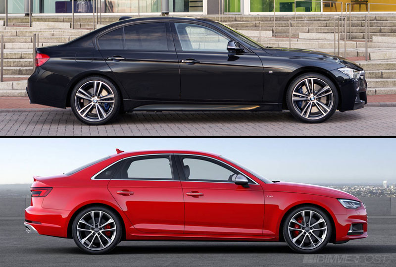 2016 bmw 340i vs new 2017 audi s4 compared. Black Bedroom Furniture Sets. Home Design Ideas