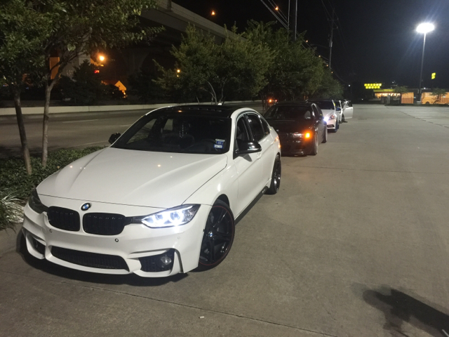 M3 Front Bumper On F30