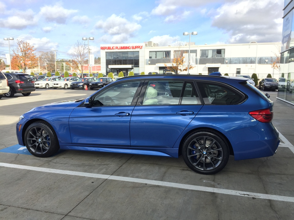 2016 Estoril Blue Oyster Lci 328i Xdrive Wagon F31 M Sport
