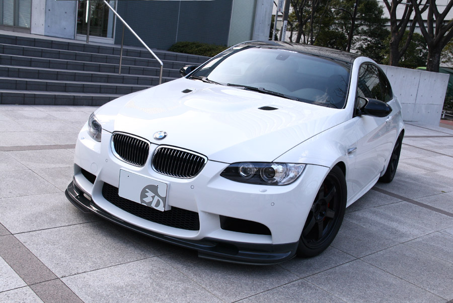 3d Design Cf Front Splitter Rear Diffuser For E92 E93 M3