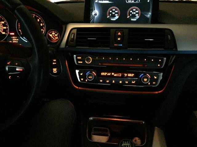 Lci Ac Radio Trim With Ambient Lighting Retrofit