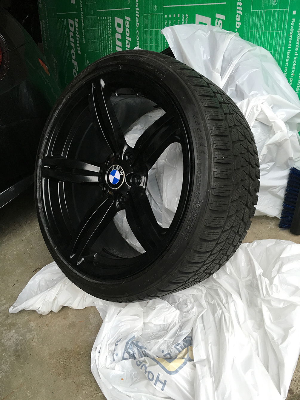 19 Quot Rims With Winter Tires Staggered 1200 Vancouver