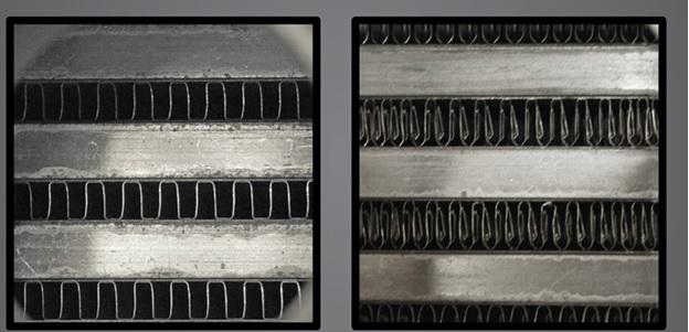 Image result for high density vs low density intercooler