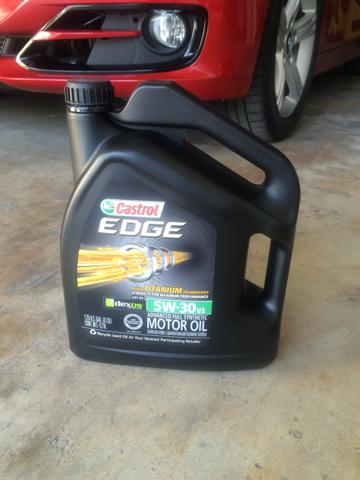 Castrol edge vs mobil 1 for Bmw motor oil recommended