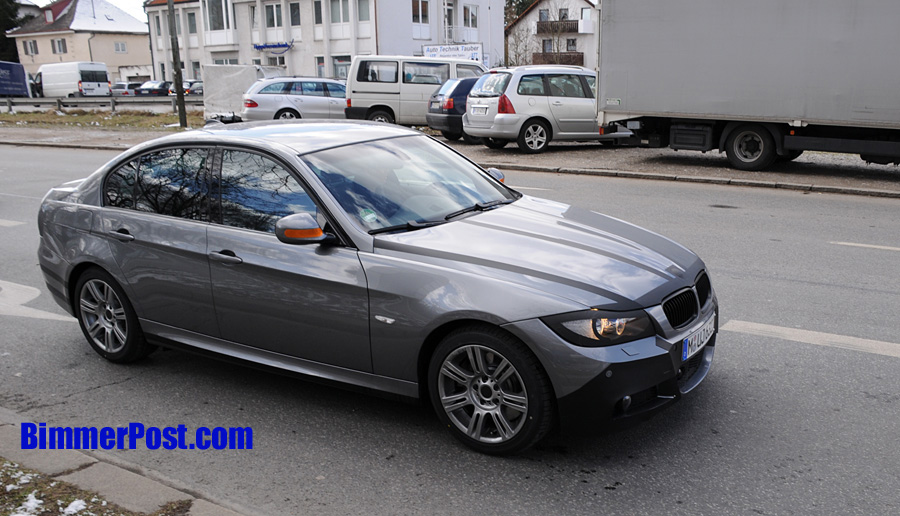 e90 m paket als facelift bmw drivers. Black Bedroom Furniture Sets. Home Design Ideas