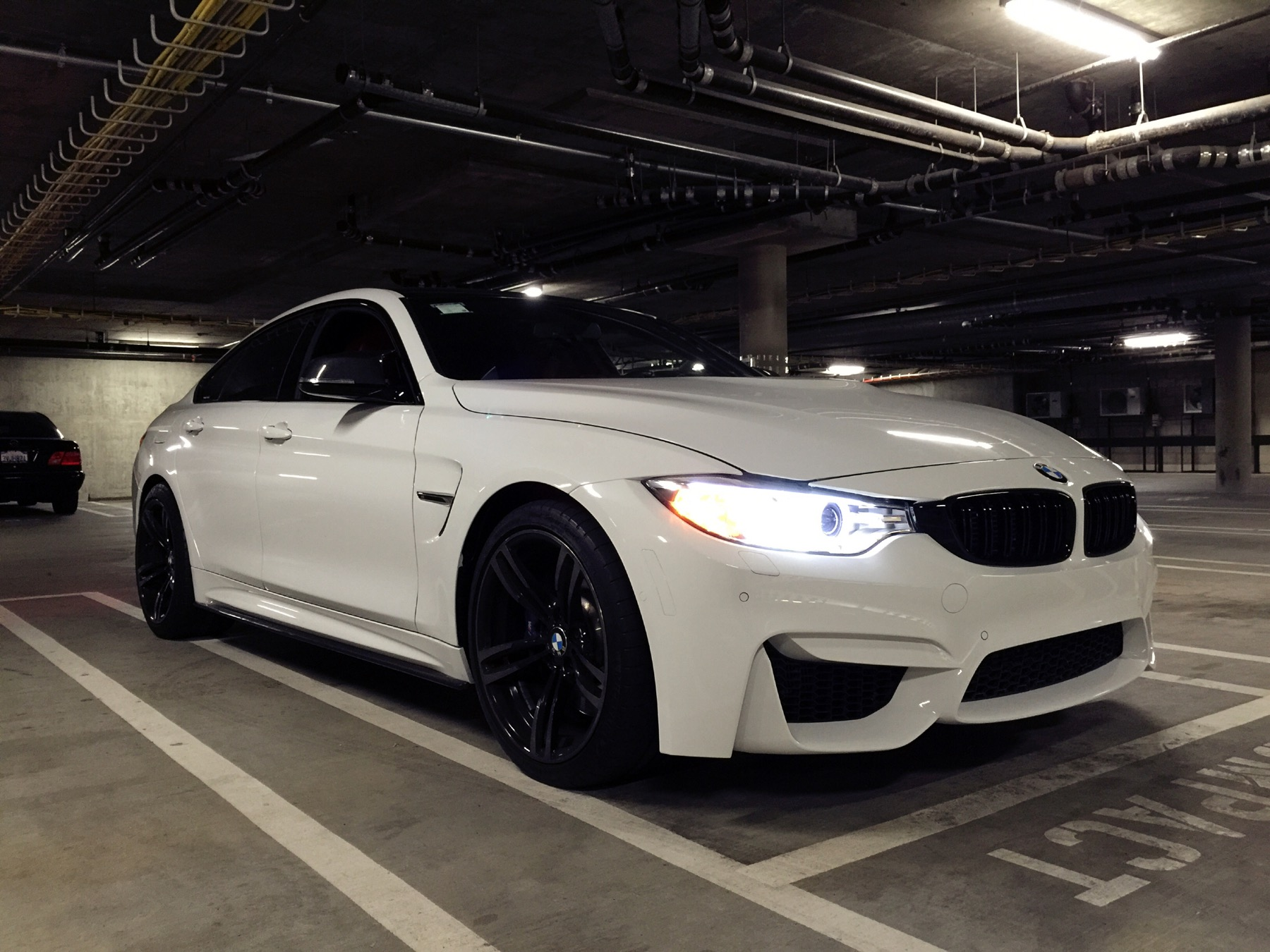 my build 435i gran coupe to m4 conversion oem 437m wheels awe custom quad exhaust. Black Bedroom Furniture Sets. Home Design Ideas