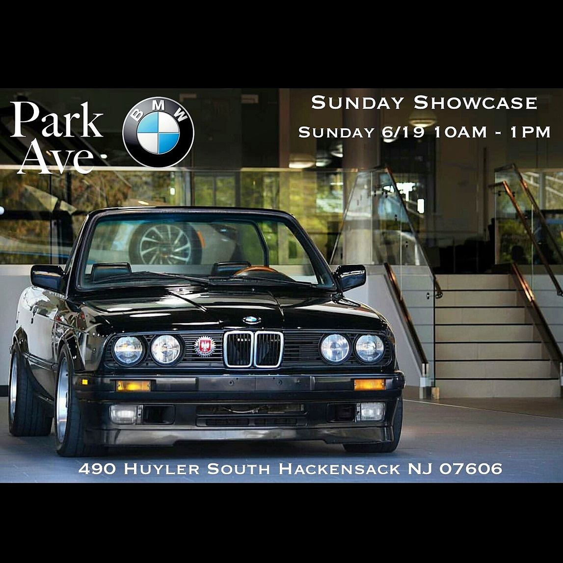 father 39 s day sunday showcase park ave bmw. Black Bedroom Furniture Sets. Home Design Ideas