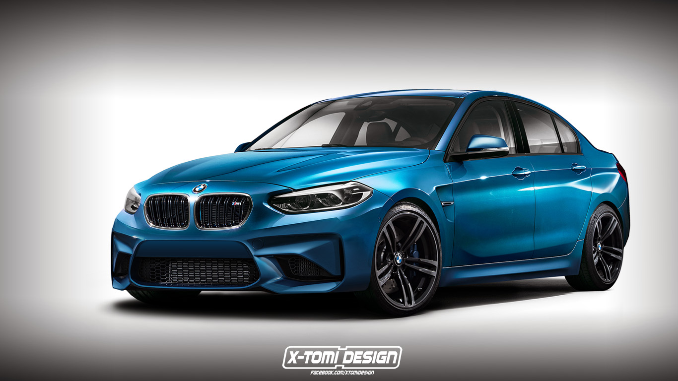 Bmw Quot M1 Sedan Quot Rendered By X Tomi Design