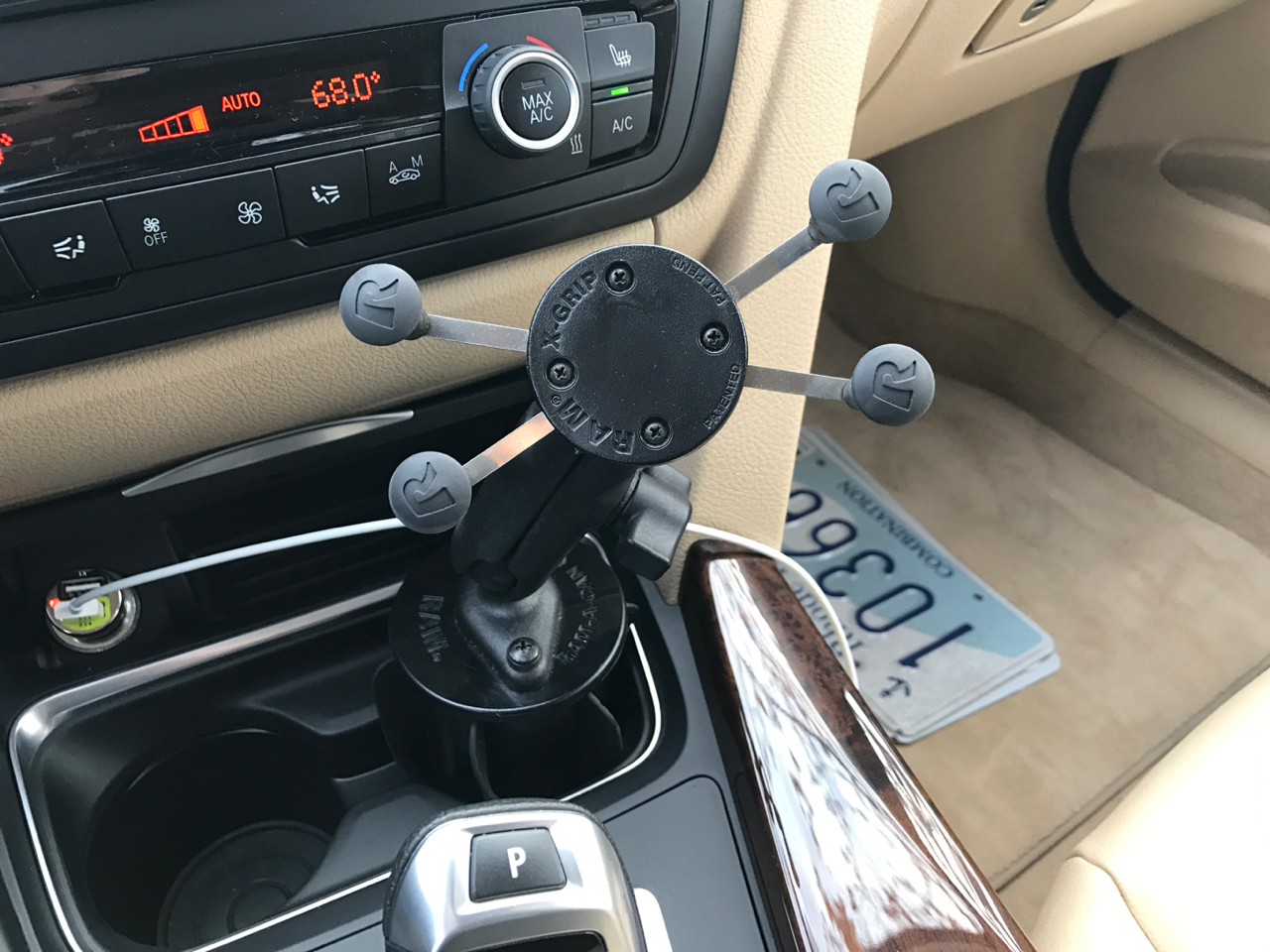 Cell Phone Mount F30