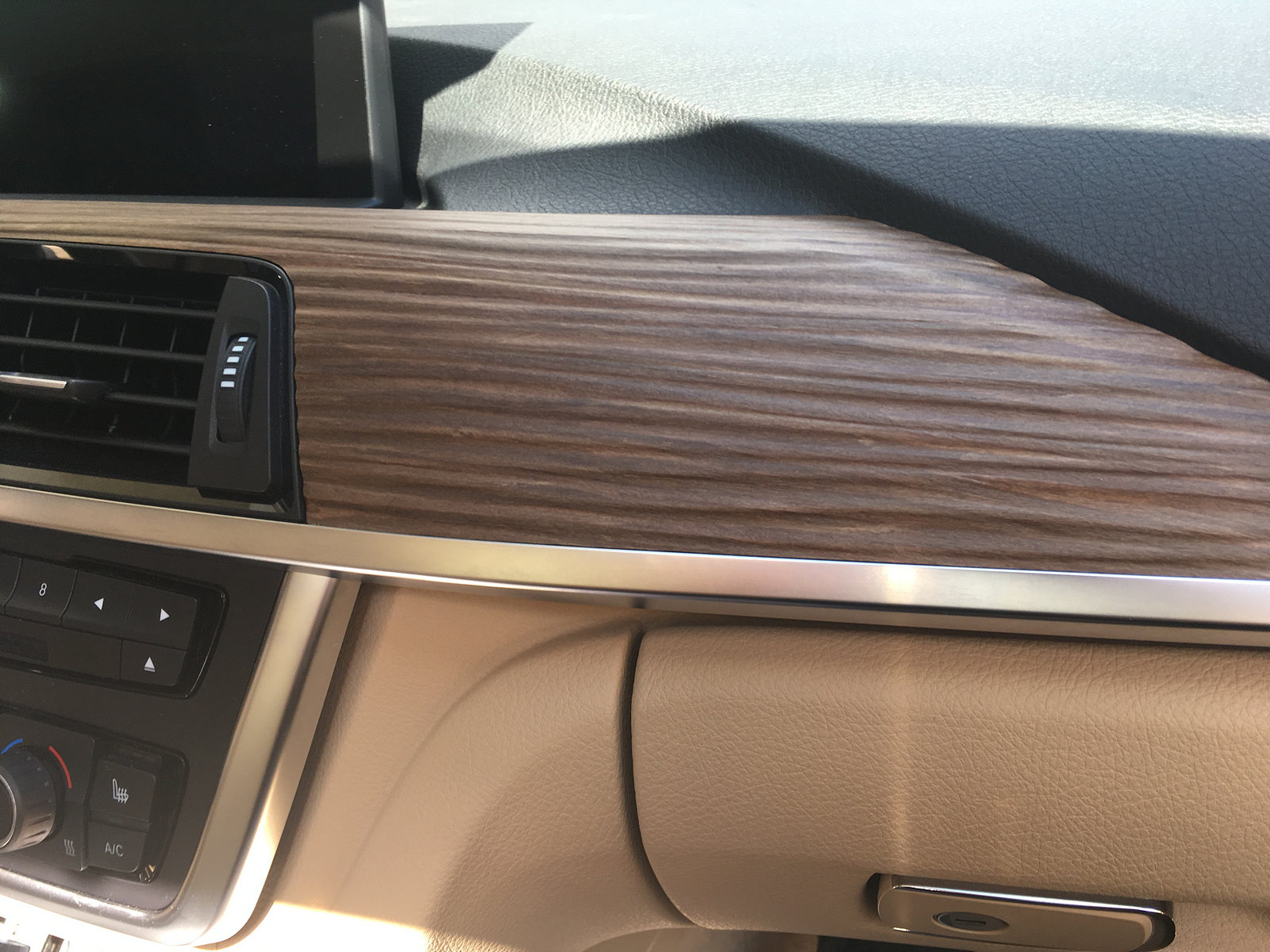 Swapped my Burr Walnut trim with Fineline Pure Wood