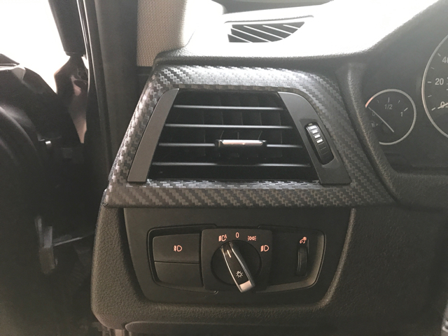My First Time Attempting To Wrap Interior Trim