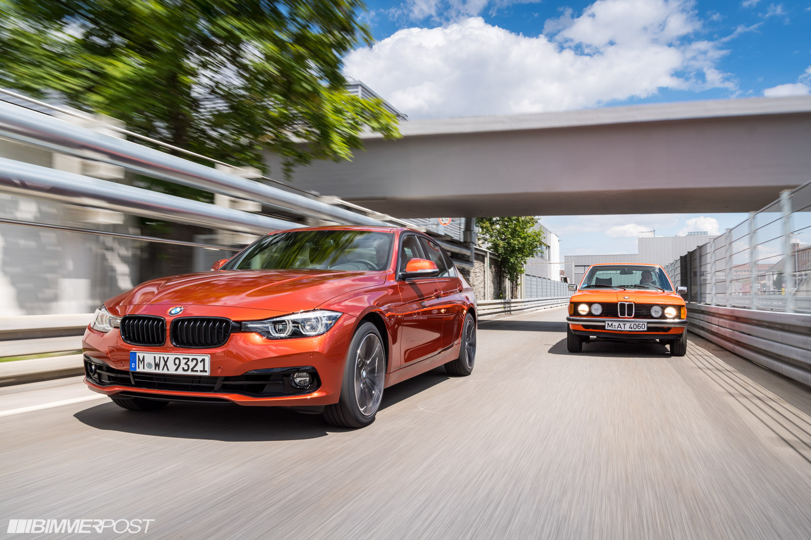 Production launch of new edition models of the bmw 3 series sedan and touring