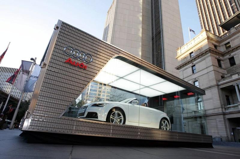Audi One Car Showroom - Audi car showroom