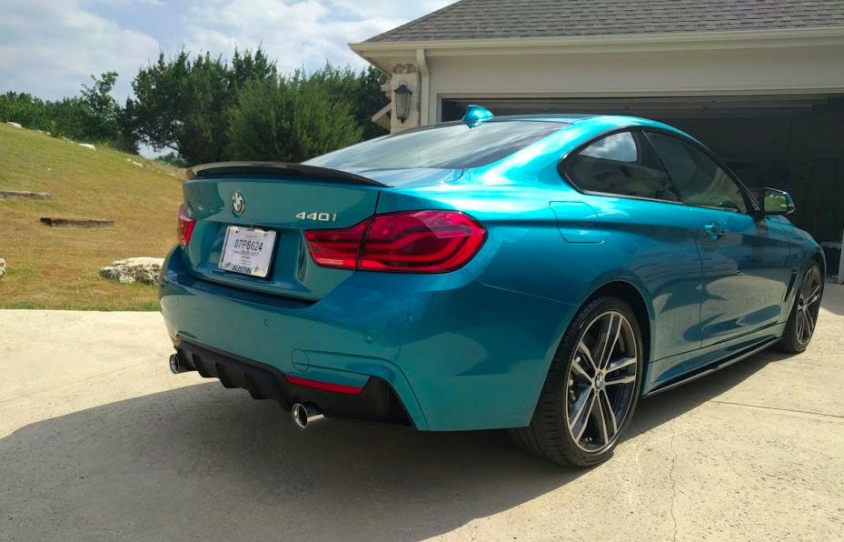 New 440i Snapper Rocks Blue Bmw 3 Series And 4 Series