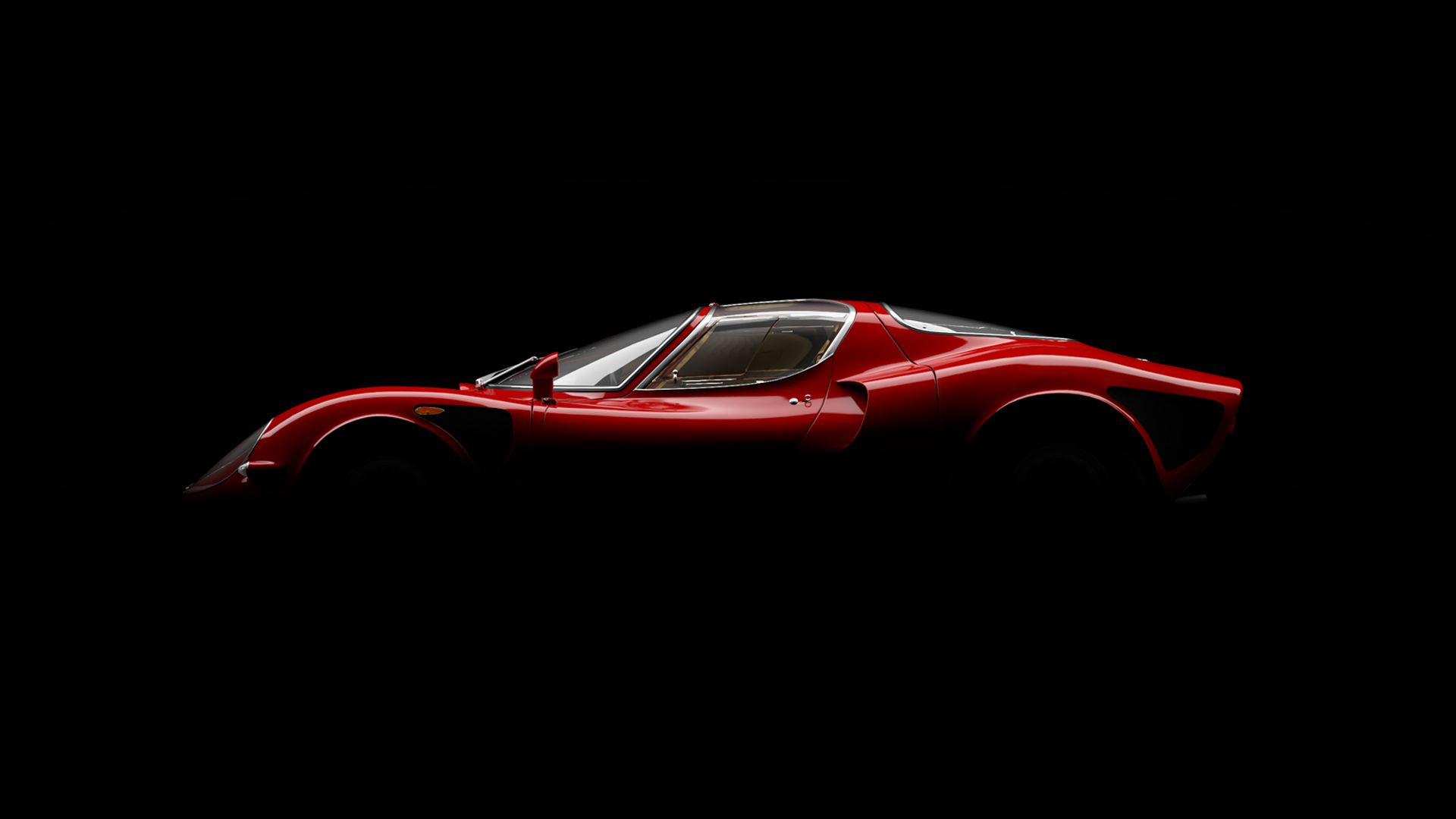 the world's most beautiful car, the alfa romeo 33 stradale turns 50