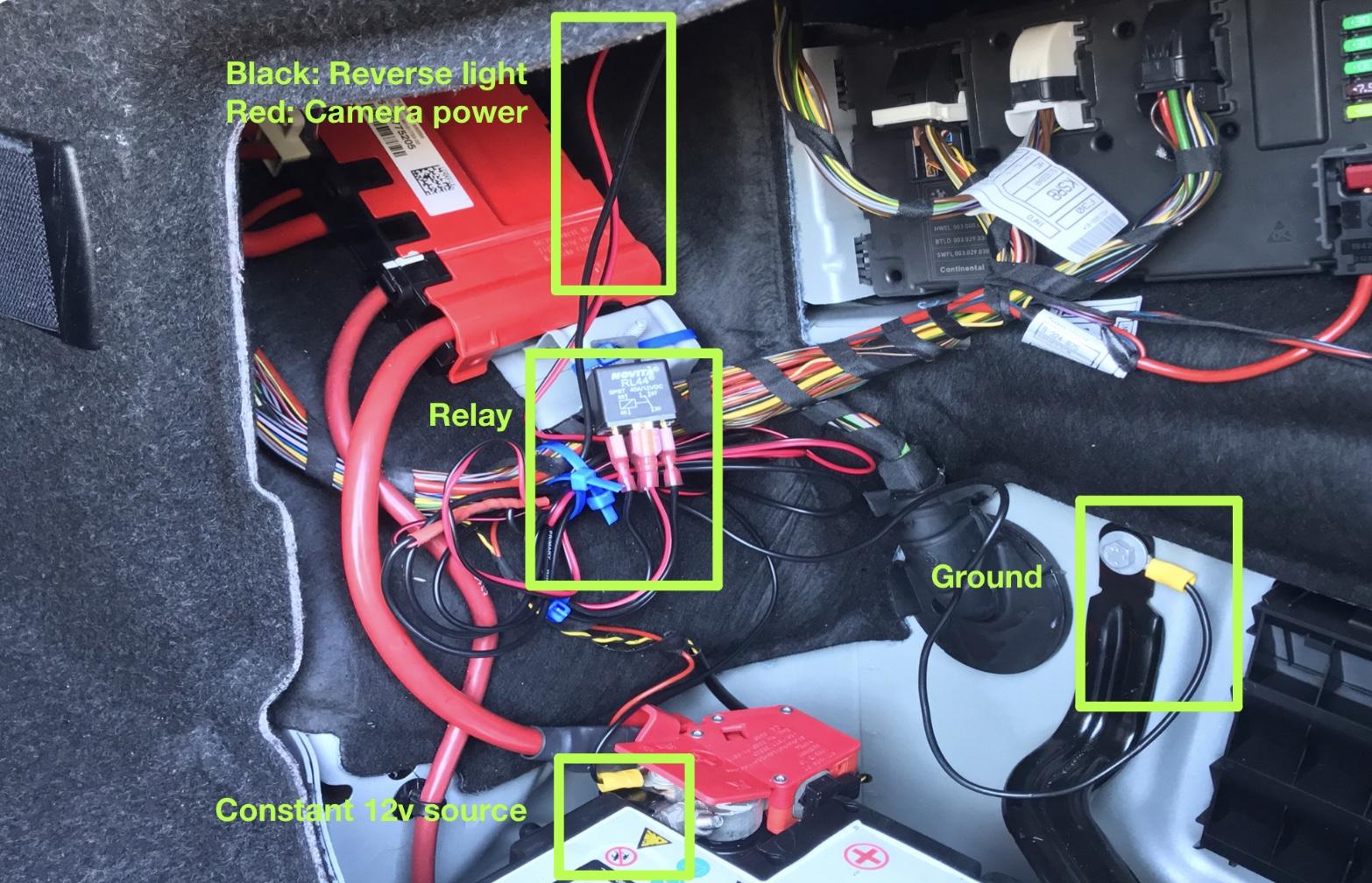 Bmw Reverse Light Wiring Diagram