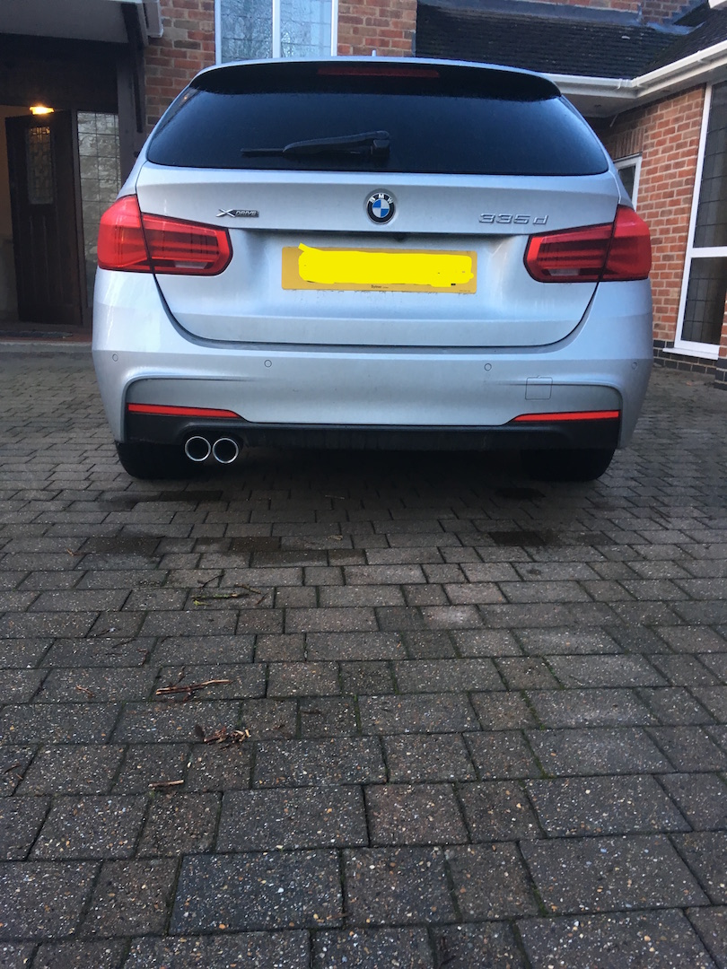 Dual Exhaust Conversion 335d Touring