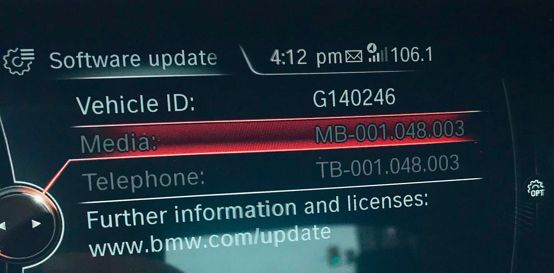 Bmw Com Update Software Update Released 2018